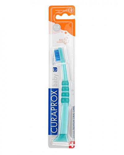 Baby Tandenborstel groen-blauw