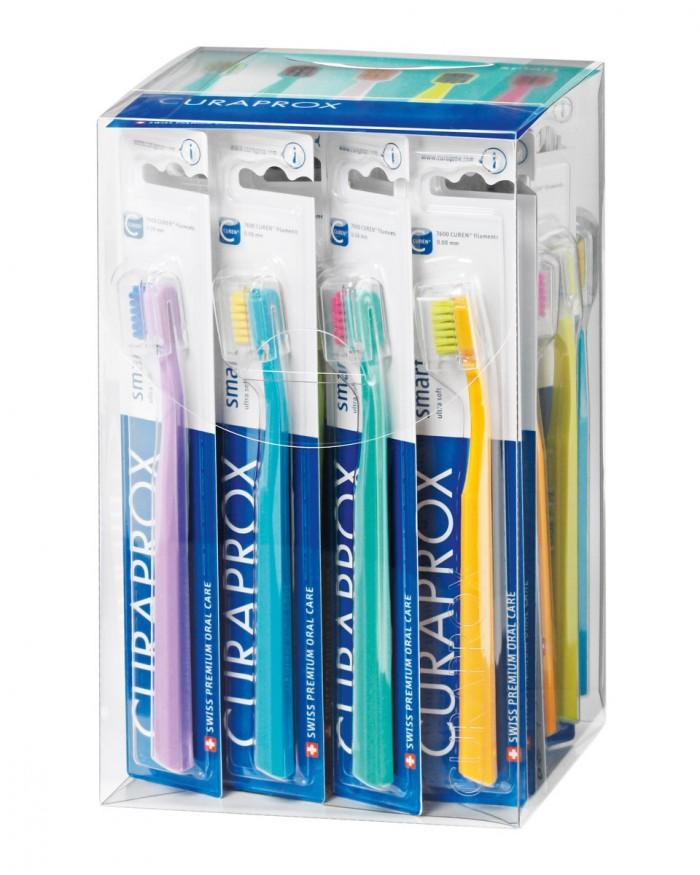 Box avec 36 CS smart brosses à dents